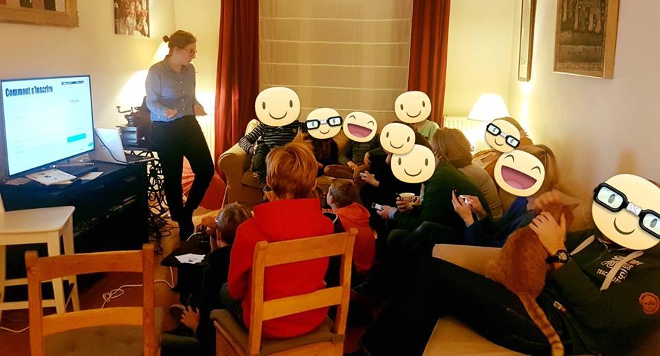 atelier réseaux sociaux enfants